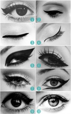 Different Liner Looks #makeup #eye