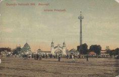 BUCURESTI - Expozitia 1906 - Intrarea
