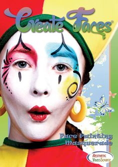 Learn 8 Beautiful Masquerade Face Painting Designs, 40 exciting designs in all.