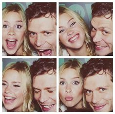 Claire holte and Joseph morgan