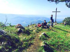 On the top of Vysoká, Little Carpathians