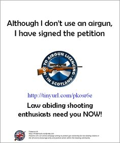 The Importance Of The Airgun Licensing Debate In Scotland Can
