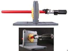 NEED THIS!!! Lightsaber bookends. This is ridiculously awesome.