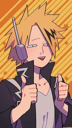 Boku no Hero Academia || Kaminari Denki aka electric cinnamon roll