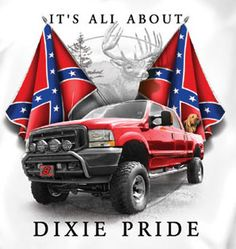 Coed Sportswear Rebel T-Shirt: All About Dixie Pride - Tattoo Images Southern Heritage, Southern Pride, Country Girl Life, Country Girls, Rebel Flag Tattoos, Chevrolet Trucks, 1957 Chevrolet, Chevrolet Impala, Chevy