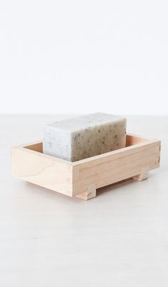 Hinoki Wood Soap Dish