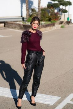 Ms Treinta - Fashion blogger - Blog de moda y tendencias by Alba.: Fur Sweater