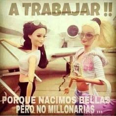 Barbie and Skipper Spanish Humor, Spanish Quotes, Ap Spanish, Funny Quotes, Life Quotes, Quotes En Espanol, Story Of My Life, True Stories, Real Life