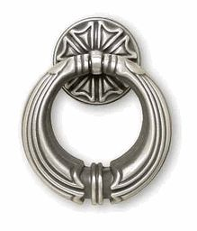 Ring Pull - Brushed Satin Pewter - 50mm $3.35 would work nicely as Japanese style hardware
