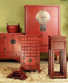 love asian influence inside my home - I would absolutely love these in my bedroom to match the artwork and decor