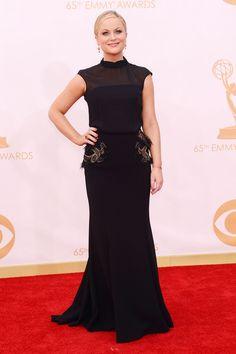 Amy Poehler wearing a Basler dress