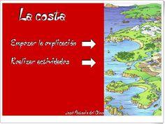 """""""La costa"""" (Relieve de Educación Primaria)"""