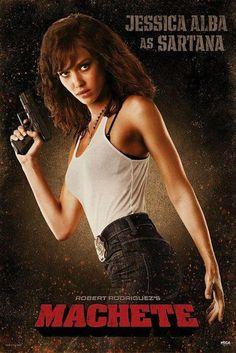 Machete : Sartana (Jessica Alba) - Maxi Poster 61cm x 91.5cm (new & sealed)