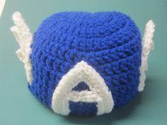 Crochet Captain America Hat by Francesca4me on Etsy Crochet Captain America  Hat adfa3519487