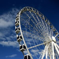 Get 360° views of Australia from The Wheel of Brisbane. The ferris wheel features air-conditioned capsules for a 12 minute ride that goes nearly 200 feet high.