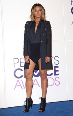 Leg #GOALS: The Sexiest Celebrity Legs | Ciara show off her toned legs Pinterest: KarinaCamerino