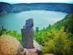 Devil's Lake, Baraboo, Wisconsin, USA