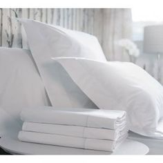 The Hotel Classic Luxury Bed Linen - French Bedroom Linen - White French Bed Linen