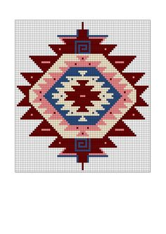 Tapestry Crochet Patterns, Crochet Stitches Patterns, Embroidery Patterns, Cross Stitch Patterns, Knitting Patterns, Beading Patterns Free, Bead Loom Patterns, Tapete Floral, Mochila Crochet