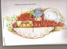 riscos frutas e utensilios