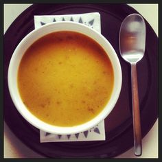 pumpkin and rosemary soup