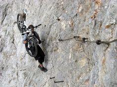 REAL mountain biking...