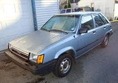 Toyota Tercel hatchback '83 my first car :)