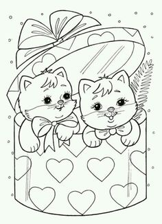 Ideas book page crafts christmas ideas Easter Coloring Pages, Cat Coloring Page, Disney Coloring Pages, Christmas Coloring Pages, Animal Coloring Pages, Coloring Book Pages, Printable Coloring Pages, Coloring Pages For Kids, Coloring Sheets