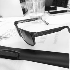 One of the MANY perks of being a successful #entrepreneur? A gift from your mentors of new designer sunglasses!   Aws will need these to shield his eyes from the bright light of his rising star    #noblesolution #success #winningatlife