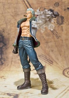 "Crunchyroll - Store - Smoker Bandai Figuarts ZERO ""One Piece"" (Static Figure) One Piece Figure, One Piece Manga, Zoro One Piece, One Piece Merchandise, Anime Merchandise, Model One, Figure Model, Zero One, Anime Figurines"