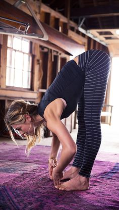 forward fold | yoga