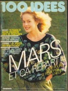 """Hier, j'ai reçu le numéro 125 de Mars 1984. Je l'avais oublié. Une merveille, ce pull aux feuilles de chêne rebrodées """"PULL AUX VERTS"""". C'est un ouvrage de Marie-Claude BASTIT , photo de Gilles de CHABANEIX. J'ai déjà fait l'échantillon. La laine Marigold..."""