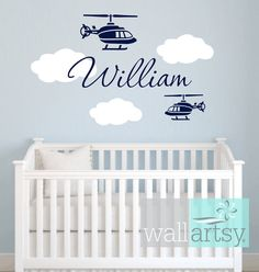 helo wall decal