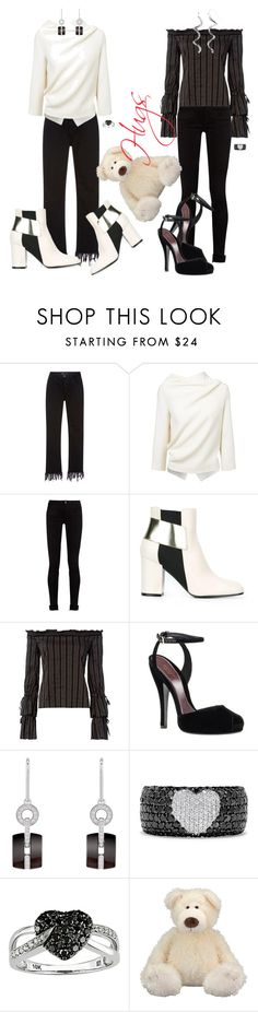 """""""Hug"""" by april-wilson-nolen ❤ liked on Polyvore featuring 3x1, Roland Mouret, Gucci, Pollini, Exclusive for Intermix, Chanel, Effy Jewelry, Ice and Silver Luxuries"""