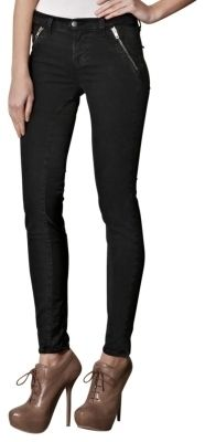 Nikko stretch denim zippers Skinny Jeans