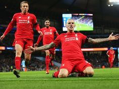 Liverpool produced a sensational performance to beat Manchester City at the Etihad Stadium on Saturday - here is a selection of images recapping a thrilling evening for Jürgen Klopp's team. Liverpool Premier League, Fc Liverpool, Liverpool Football Club, Football Team, Manchester City, Soccer Stats, West Brom, Premier League Matches, Latest Sports News