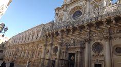 Santa Croce, Lecce's Basilica, built in 1647. Baroque Art. More info: www.laputea.com