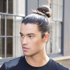 25 Coolest Long Hairstyles for Men for 2020 Man Bun Hairstyles, Hipster Hairstyles, Hairstyles For Teenage Guys, Haircuts For Men, Men's Haircuts, Man Bun Styles, Beard Styles, Long Textured Hair, Types Of Facial Hair