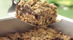 A classic layered bar makes the perfect treat to tote to a get-together.
