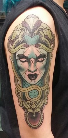 """my newest, petrified medusa by emily rose murray (MEL, AUS)"""