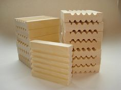 Wood soap dish  rectangular untreated wood by NutmegNaturalsCT, $3.75