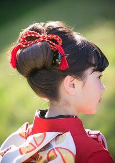 Updo Styles, Long Hair Styles, Roller Set, Wedding With Kids, Yukata, Japanese Kimono, Perm, Cute Photos, Geisha