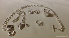 Araceli A. Canda's new silver accessories
