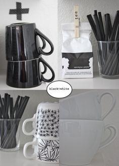 zwart wit in de keuken langiusdesign