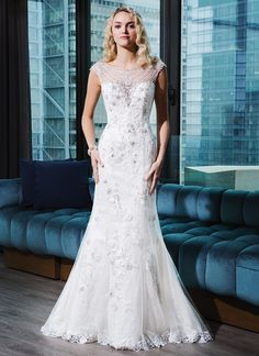 Beaded Wedding Gowns by Justin Alexander #wedding #weddingdress #bride