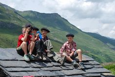 les jeunes bergers de chez pépé nicolas