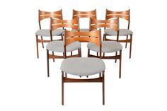 Beautiful Erik Buck Dining Chairs