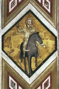 "renaissance-art: "" Giotto c.1320 Four Horsemen of the Apocalypse """