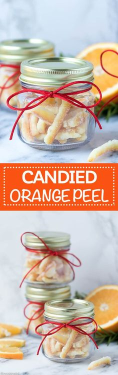 Easy Candied Orange