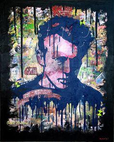 "Saatchi Art Artist Jean Sbastien Godfrin; Painting, ""GIANT ! (SOLD)"" #art"